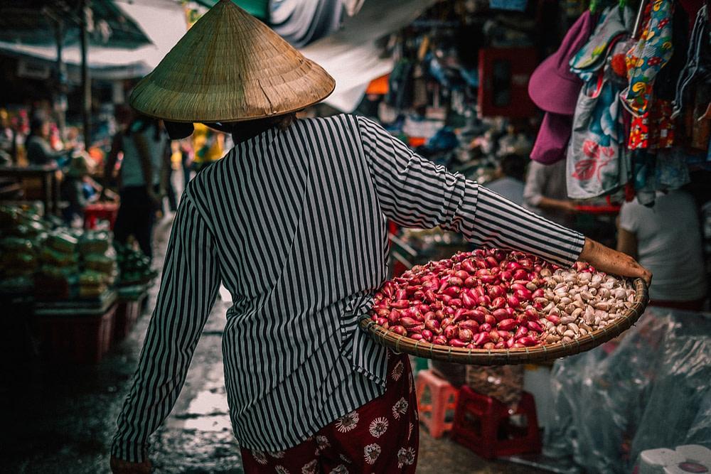 Shopper In A Market
