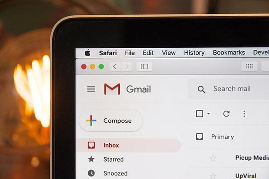 Gmail Viewed On Desktop