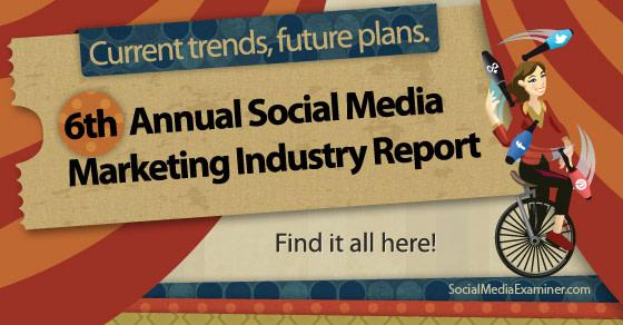Social Media Examiner Marketing Industry Report 2014