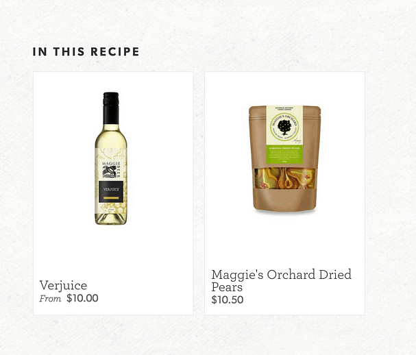 Products Featured In Maggie Beer Recipe